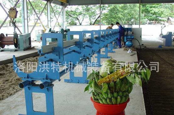 Automatic steel straightening machine / steel straightening machine specifications